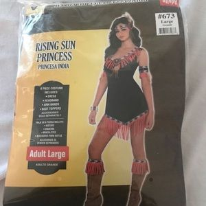 Rising Sun Princess Costume